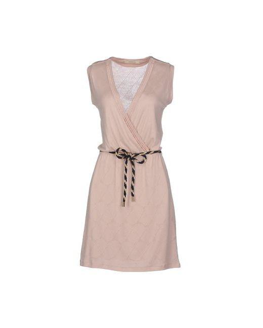 Sessun | Женское Телесное Короткое Платье