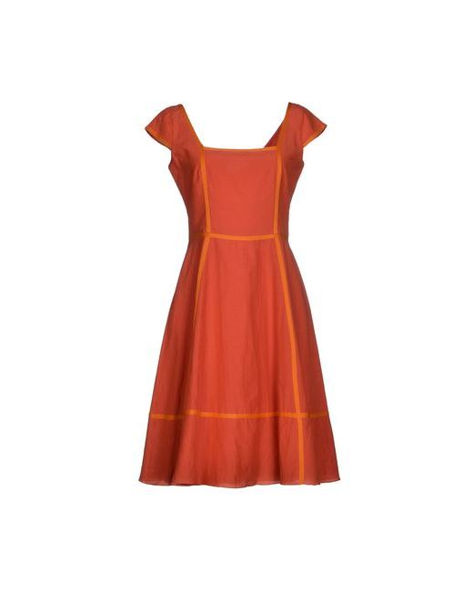 Siyu | Женское Коричневое Короткое Платье