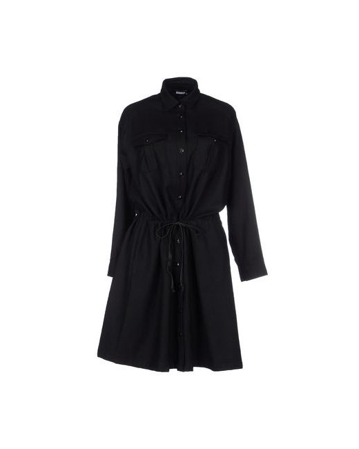 YOSHI KONDO | Женское Чёрное Короткое Платье