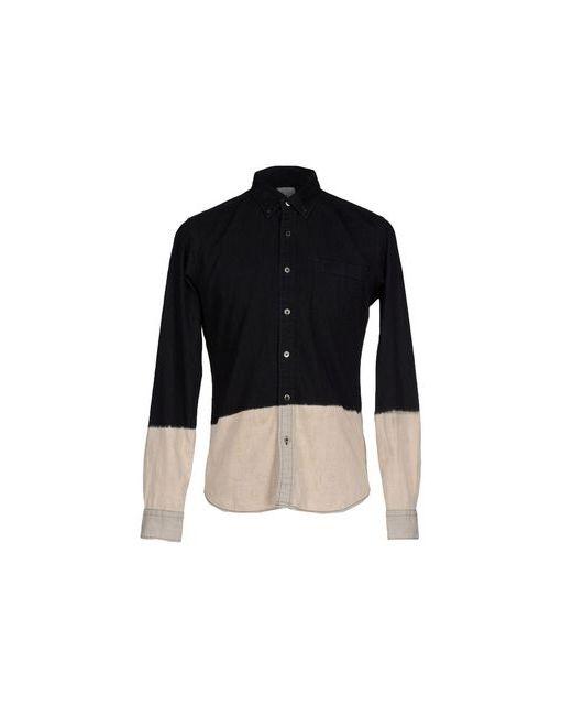 UNIFORM EXPERIMENT | Мужская Чёрная Джинсовая Рубашка