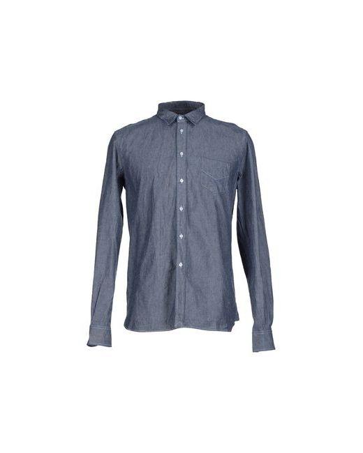 D.R Shirt | Мужская Синяя Джинсовая Рубашка