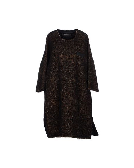 Ter Et Bantine | Женское Чёрное Платье До Колена