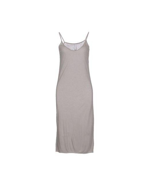 Ekle' | Женское Серое Платье До Колена