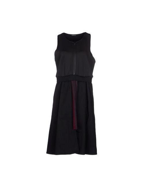 MINIMAL TO | Женское Чёрное Платье До Колена