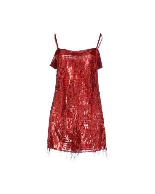 Jenny Packham   Женское Красное Короткое Платье