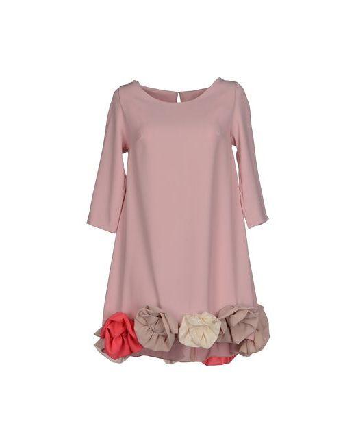 Macrí | Женское Розовое Короткое Платье