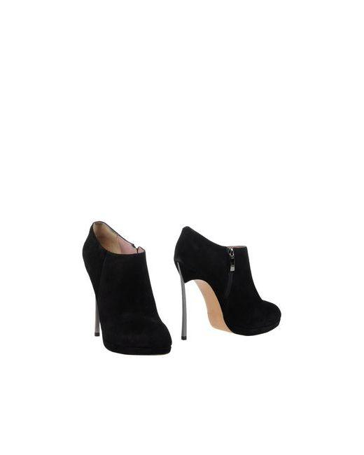 Nina Meucci | Женские Чёрные Ботинки