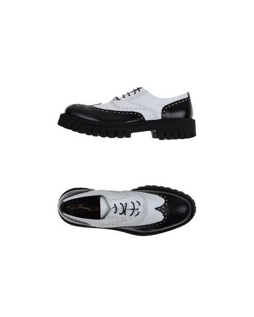 Bruno Bordese | Мужская Белая Обувь На Шнурках