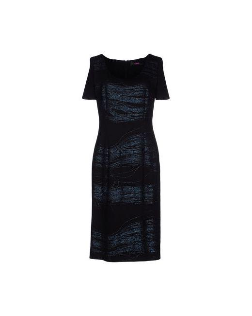 Versus | Женское Чёрное Платье До Колена