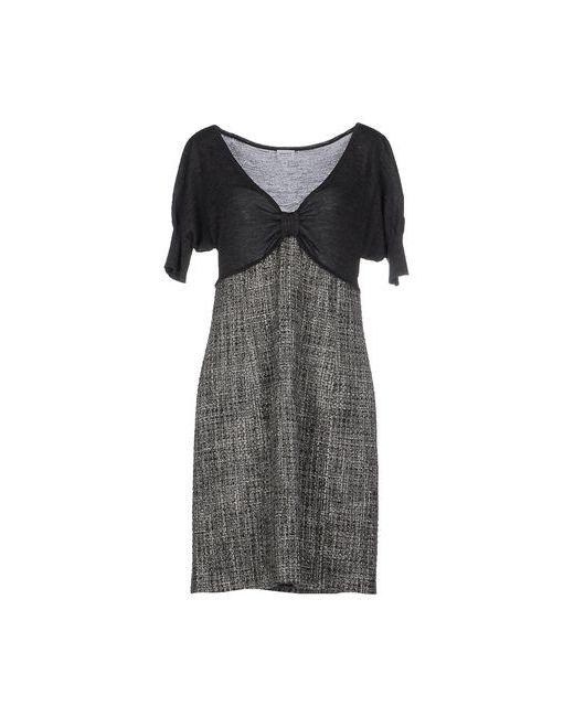 Armani Collezioni | Женское Серое Короткое Платье