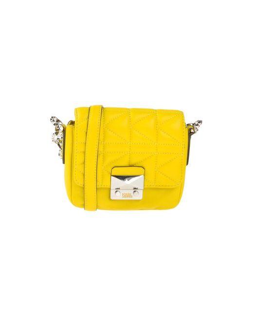 Karl Lagerfeld   Женская Жёлтая Сумка Через Плечо