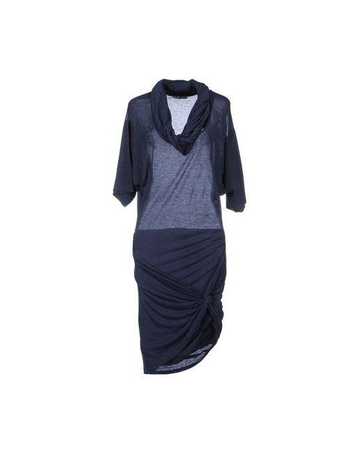 Pinko Grey   Женское Синее Короткое Платье
