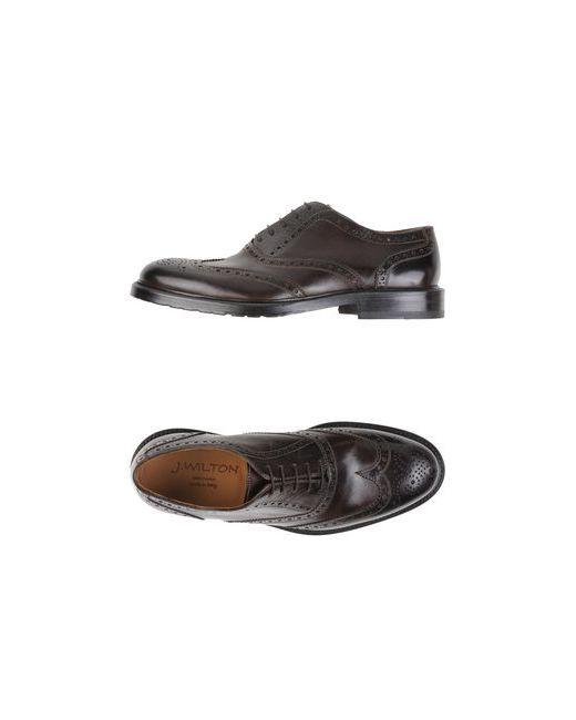 J.Wilton | Мужская Коричневая Обувь На Шнурках