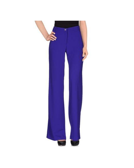 Versace Collection | Женские Фиолетовые Повседневные Брюки