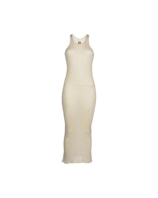 Rick Owens   Женское Бежевое Длинное Платье