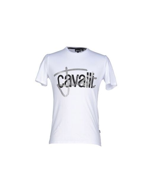 Just Cavalli   Мужская Белая Футболка