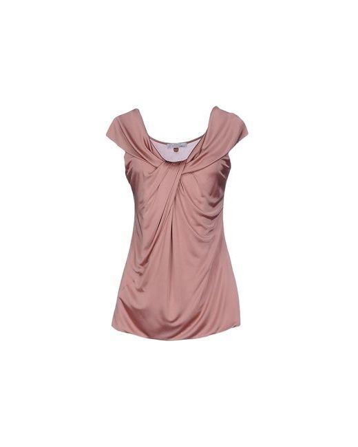 Versace Collection | Женский Розовый Топ Без Рукавов
