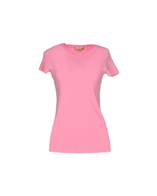 Fay | Женская Розовая Футболка