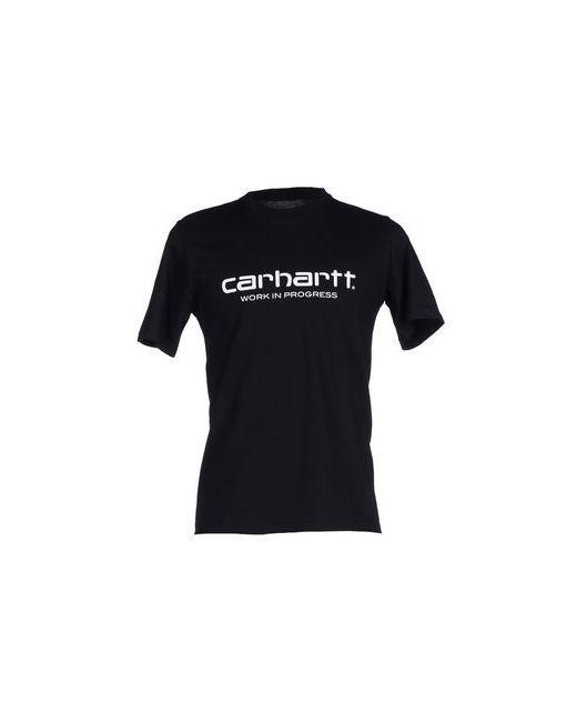 Carhartt | Мужская Чёрная Футболка