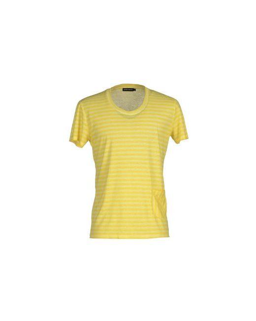 Antony Morato | Мужская Жёлтая Футболка