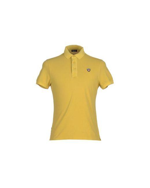 Blauer   Мужское Жёлтое Поло