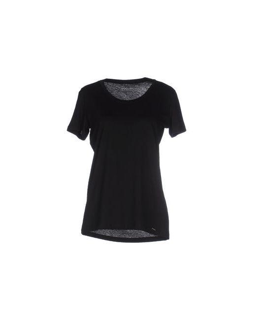 Woolrich | Женская Чёрная Футболка