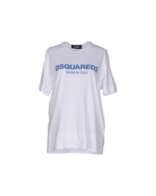 Dsquared2   Женская Белая Футболка