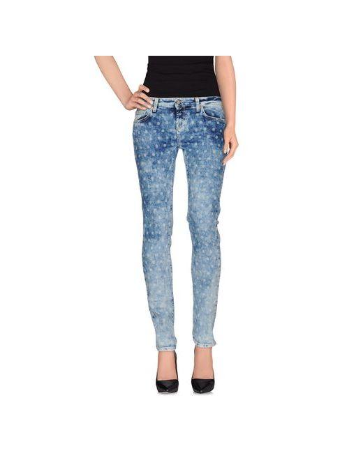 Up ★ Jeans | Женские Синие Джинсовые Брюки