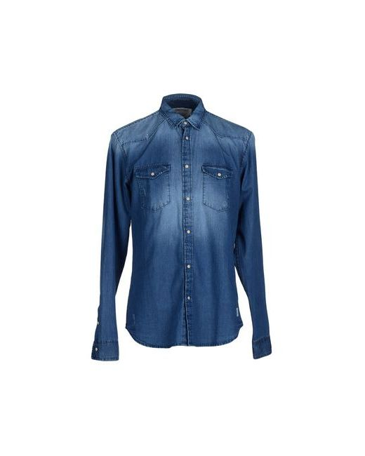 Originals By Jack & Jones | Мужская Синяя Джинсовая Рубашка