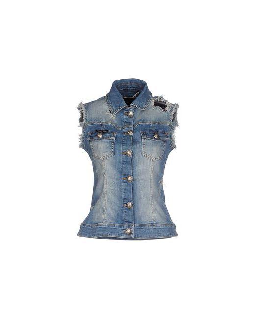 Philipp Plein Couture | Женская Синяя Джинсовая Верхняя Одежда