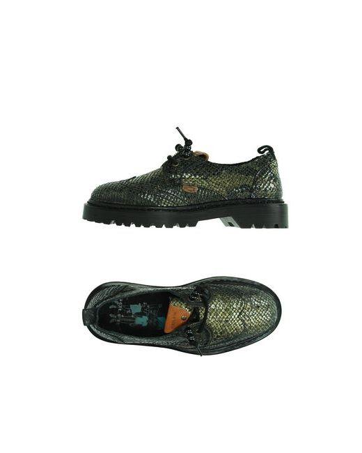Dolfie   Женская Зелёная Обувь На Шнурках
