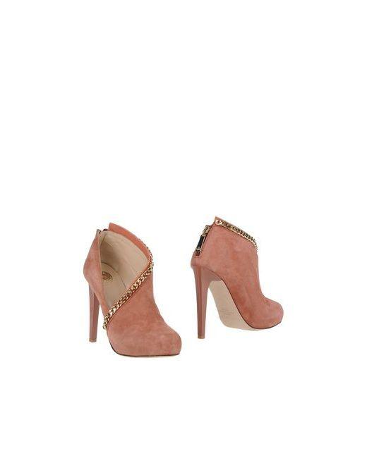 ELISABETTA FRANCHI | Женские Розовые Ботинки