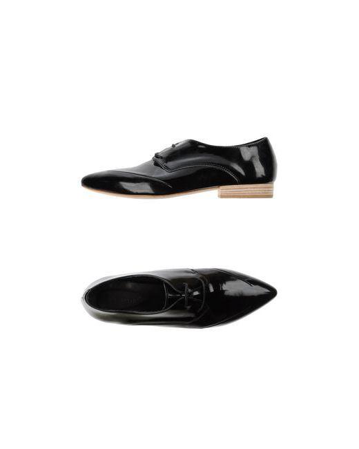 Vic Matie' | Женская Чёрная Обувь На Шнурках