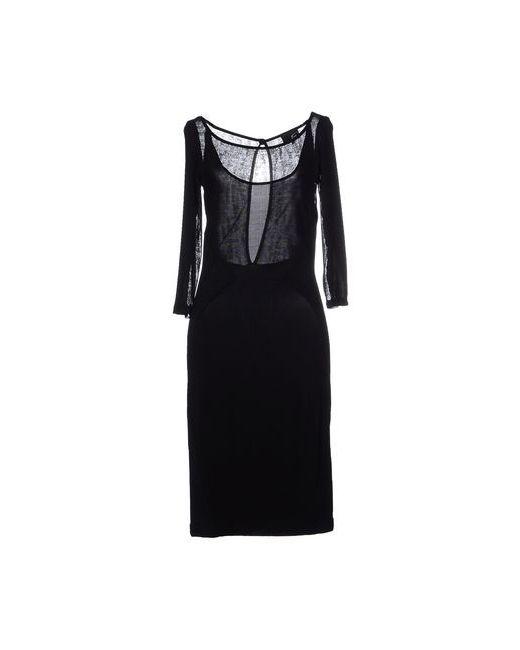 Just Cavalli | Женское Чёрное Платье До Колена