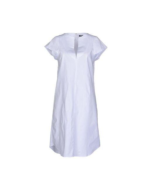 Jil Sander Navy   Женское Белое Короткое Платье
