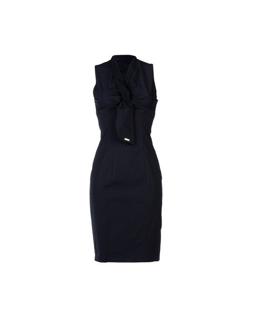 Dsquared2 | Женское Синее Короткое Платье