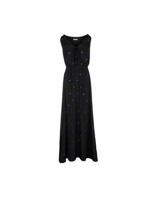 BeaYukMui | Женское Чёрное Длинное Платье