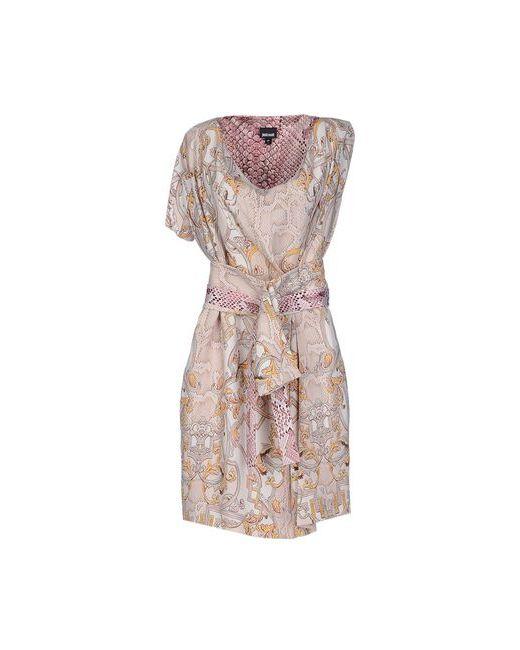 Just Cavalli | Женское Розовое Короткое Платье