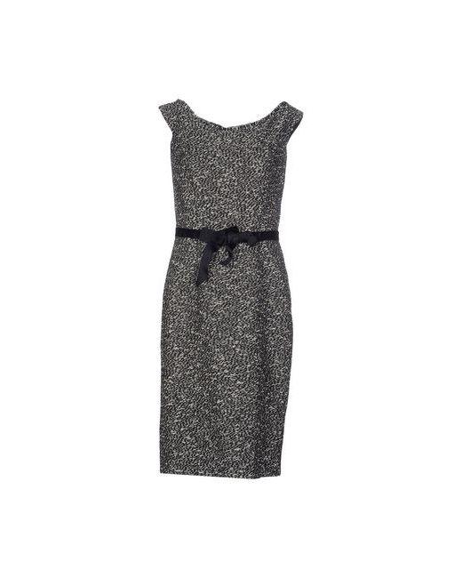 Dior   Женское Чёрное Платье До Колена