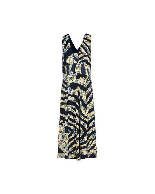 Class Roberto Cavalli   Женское Синее Длинное Платье