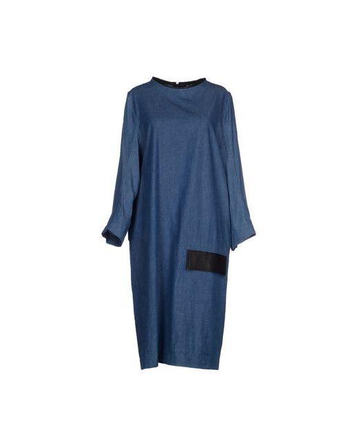 Damir Doma | Женское Синее Платье До Колена
