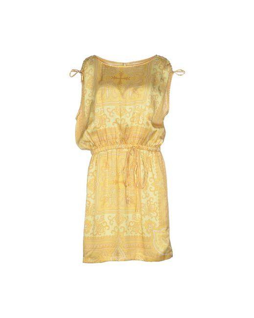BeaYukMui | Женское Жёлтое Короткое Платье