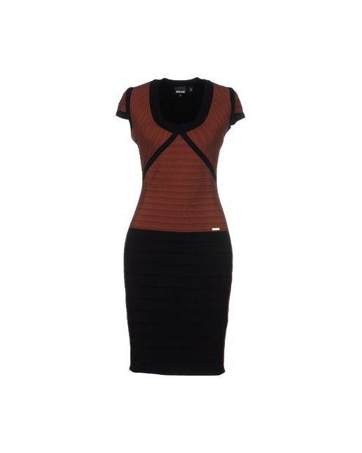 Just Cavalli | Женское Какао Короткое Платье