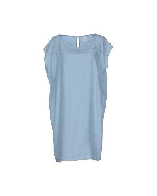 Des Petits Hauts | Женское Голубое Короткое Платье