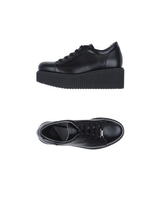 Karl Lagerfeld   Мужские Чёрные Низкие Кеды И Кроссовки