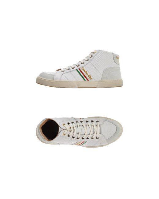 Pantofola d'Oro   Женские Белые Высокие Кеды И Кроссовки