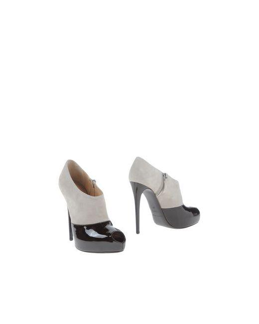 Emporio Armani | Женские Коричневые Ботинки