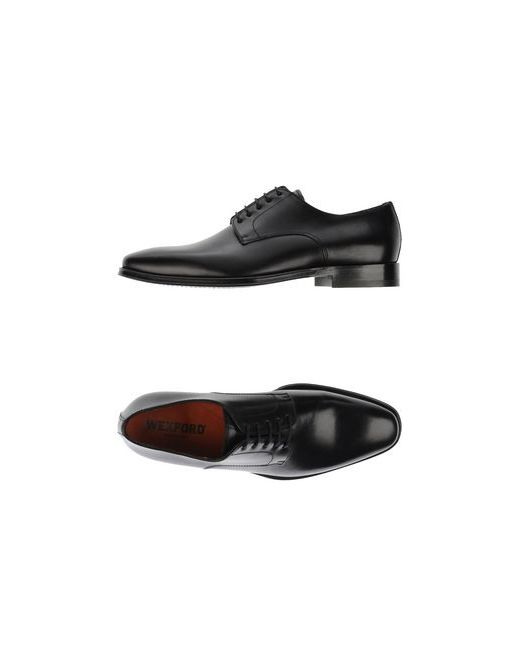 Wexford   Мужская Чёрная Обувь На Шнурках