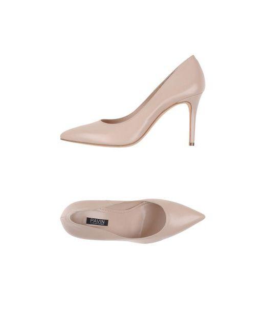 Pavin | Женские Телесные Туфли