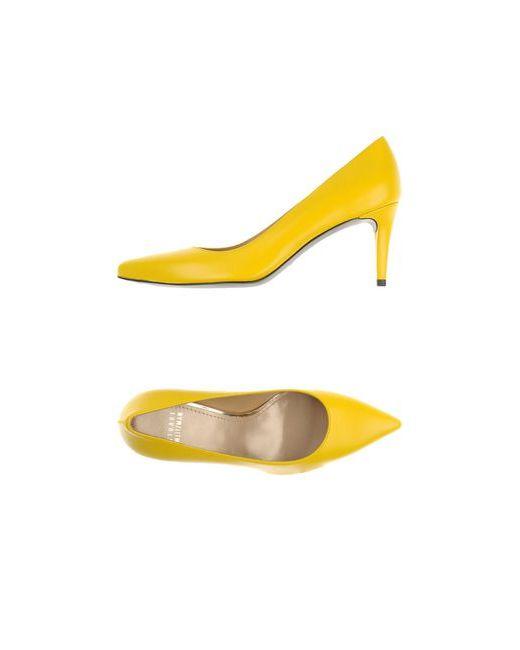 Stuart Weitzman   Женские Жёлтые Туфли